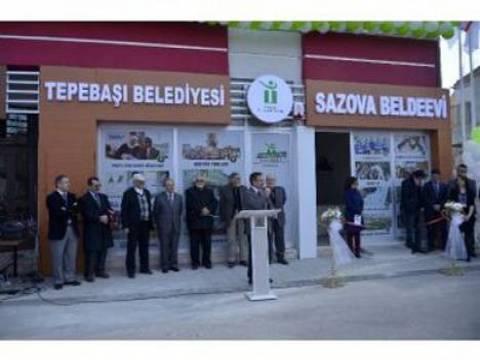 Eskişehir Tepebaşı Belediyesi 20'inci beldeevinin açılışını yaptı!