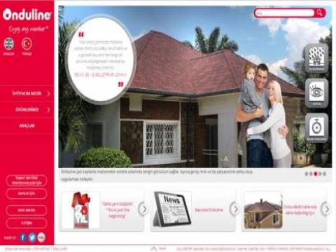 Onduline Avrasya web sitesinin tasarımı değişti!