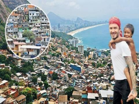 David Beckham Brezilya'dan ev aldı!