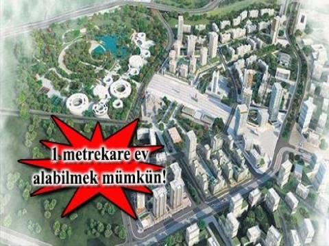 Metrekare ile ev satışı ilk olarak Kayaşehir'de başlıyor!