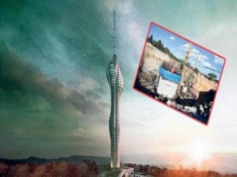 Çamlıca Tv ve Radyo Kulesi inşaatı 2017 Haziran'da bitiyor!