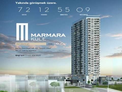 Marmara Kule projesinin www.marmarakule.com internet sitesi açıldı!