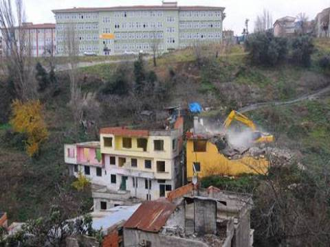 Tabakhane Kentsel Dönüşüm Projesi'nde yıkımlar devam ediyor!