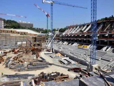 Vodafone Arena inşaatında son durum!