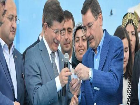 Başbakan Davutoğlu Mamak'ta kura çekim törenine katıldı!