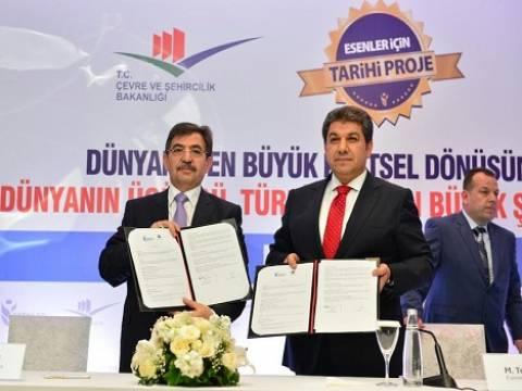 Türkiye'nin En Büyük Şehir Parkı Projesi için imza atıldı!