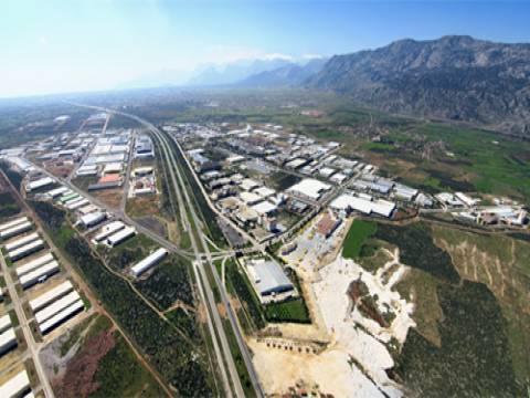 Antalya OSB'de icradan satılık 10.4 milyon TL'ye fabrika!