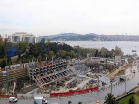 Vodafone Arena Stadı'nın inşaatı yükselmeye devam ediyor!