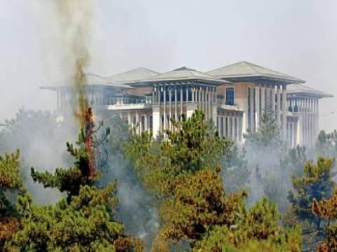 Atatürk Orman Çiftliği'nde bilinmeyen bir nedenle yangın çıktı!