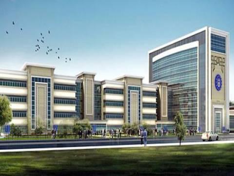 Bursa'nın yeni belediyesi binasında çalışmalar devam ediyor!
