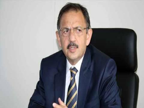 Mehmet Özhaseki: Sağlıksız yapıları yok etmek gerekiyor!