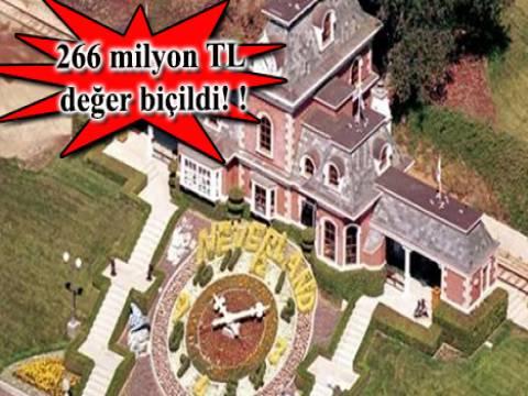 Michael Jackson'ın eğlence temalı çiftliği 'Neverland' satışa sunuldu!