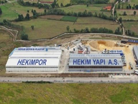 Hekim Yapı'dan 20 milyon dolarlık yatırımla 3'üncü fİbercement tesisi!