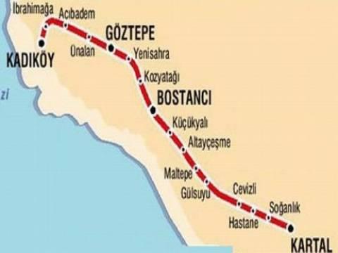 Kadıköy metro hattı!