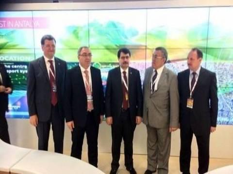 Antalya projeleri Mıpım'de tanıtılıyor!