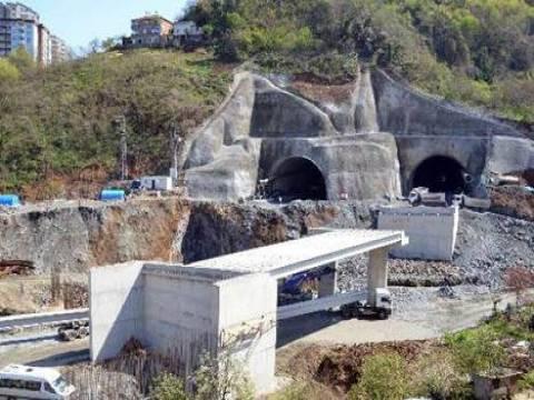 Trabzon Kanuni Bulvarı'nın inşaatı devam ediyor!