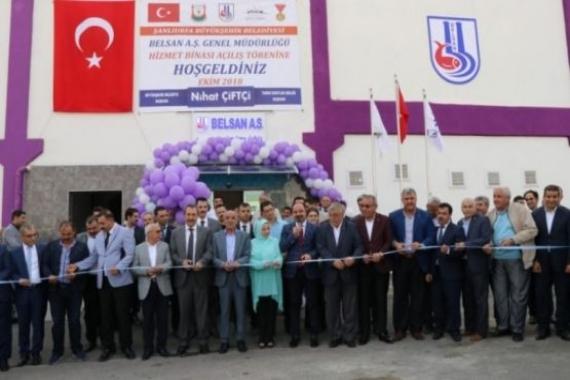 Şanlıurfa Büyükşehir hizmet binasının açılışı yapıldı!