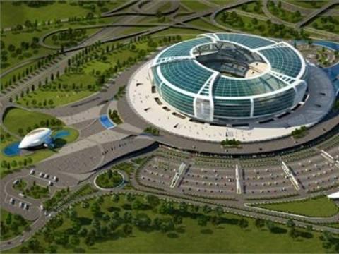 Azerbaycan Bakü Olimpiyat Stadı 24 ayda tamamlanacak!