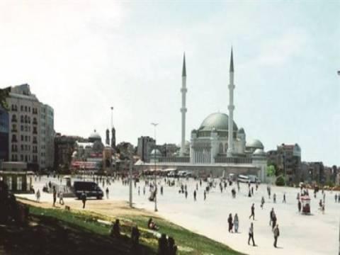 Taksim Camisi için bugün temel atma töreni yapılacak!