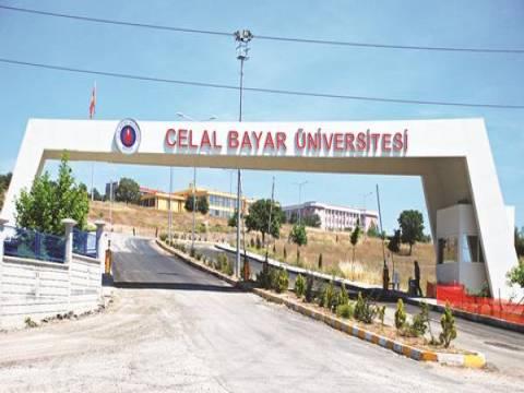 Celal Bayar Üniversitesi teslim dönemi!