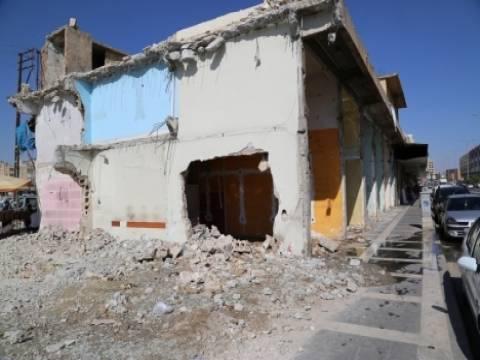 Şanlıurfa'da kentsel dönüşüm yıkımları devam ediyor!