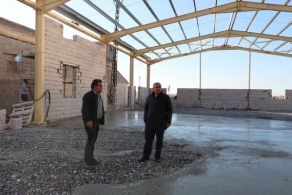 Nevşehir Uçhisar Belediyesi'ne kademe binası inşa ediliyor!