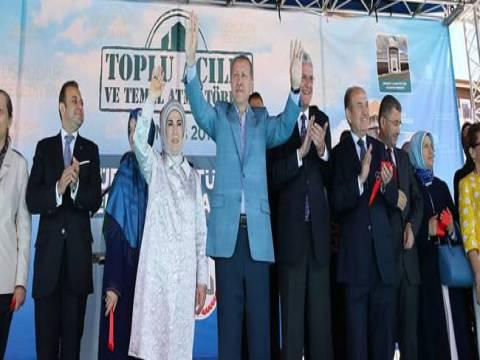 Cumhurbaşkanı Erdoğan Üsküdar'da toplu açılış törenine katıldı!