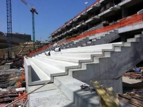 Beşiktaş Vodafone Arena'ya ilk koltuklar takıldı!