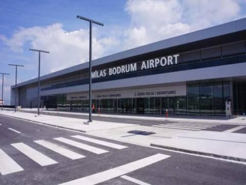 Bodrum-Milas Havalimanı Dış Hatlar Terminali geçici süre kapatıldı!