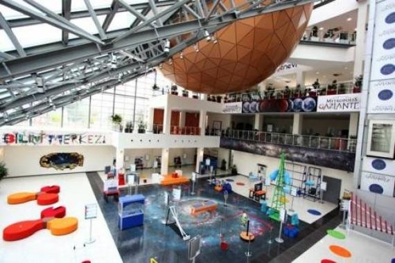 Gaziantep Bilim Merkezi 2020'de tamamlanacak!