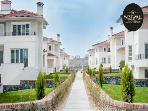 Beylikdüzü West Wall Marina Villaları satış ofisi!