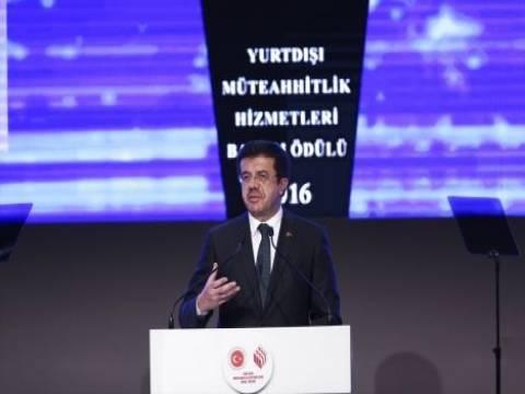 Nihat Zeybekçi: Türk müteahhitler 14 ülkede 9 bin proje üstlendi!