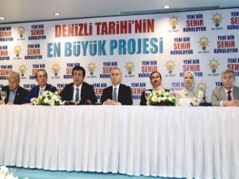 Denizli'ye 250 TL taksitle 25 bin konut projesi!
