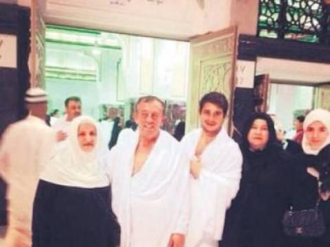 Ali Ağaoğlu Umre'yi ziyaret etti!