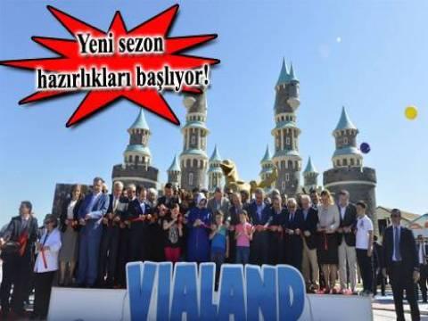 Vialand, 6 ayda 500 bin kişiyi ağırladı!