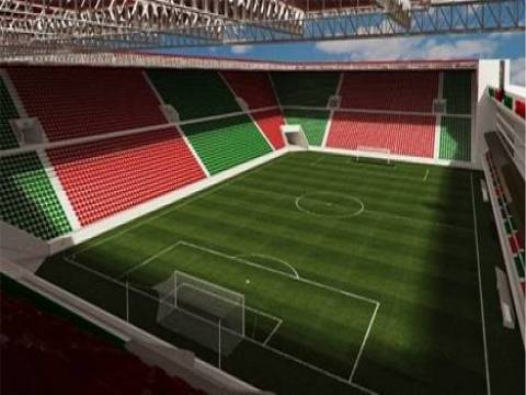 Karşıyaka Stadı'nın inşaat çalışmaları devam edecek!