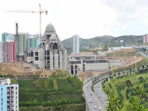 Kuzeykent Camii ve Külliyesi inşaatı hızla yükseliyor!