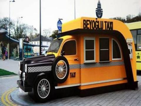 İstanbul'a modern taksi durakları yapılacak!
