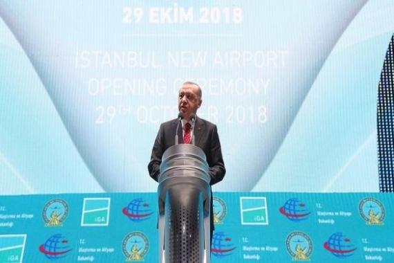 İstanbul Havalimanı açıldı!