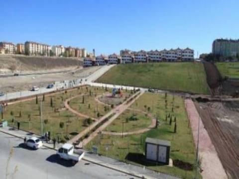 Melikgazi'deki 36 bin metrekarelik parkın inşaatı sürüyor!