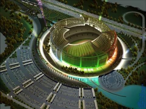 Tekfen Bakü Olimpiyat Stadı'nı inşa etti!