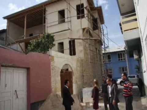 Kozan Yapıcı Konağı'nda restorasyon çalışmaları devam ediyor!