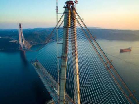 Yavuz Sultan Selim Köprüsü bir seneliğine sigortalandı!