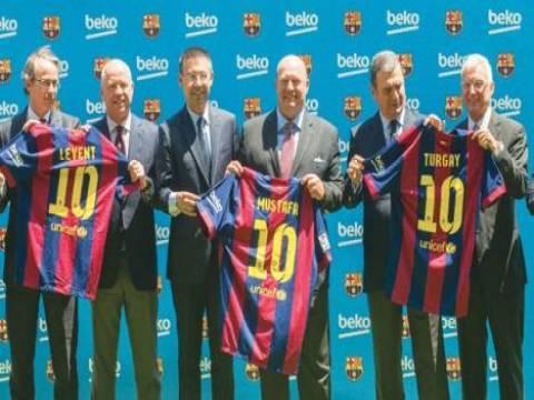 Beko, Barcelona'ya sponsor oldu!
