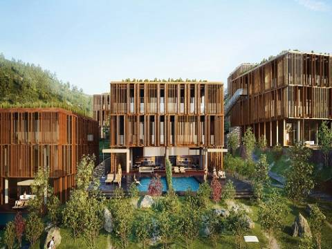 Barbaros Valley'de 690 bin Euro'ya 2+1! Yeni proje!
