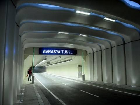 İşte Avrasya Tüneli'nin 2017 geçiş ücretleri!