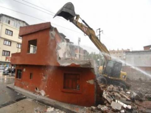 Osmangazi'de yıkım çalışmaları devam ediyor!