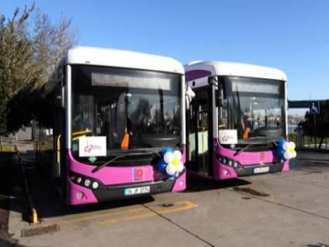 İBB Kartal'a 110 yeni otobüs alıyor!