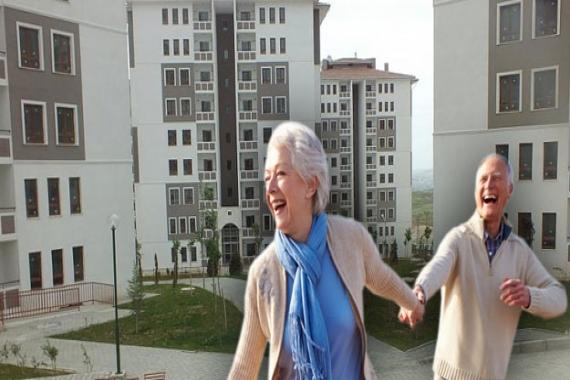 TOKİ'den emeklilere ucuz konut müjdesi!