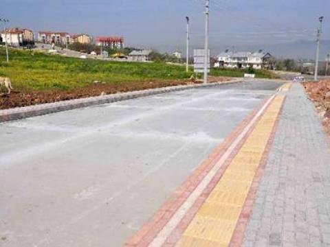 Başiskele'de Gübretaş İlkokulun önü beton yol yapıldı!